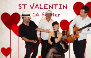 st valentin avec sylvie jazz trio