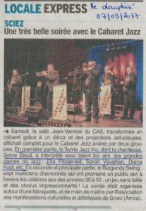 Cabaret jazz le Daupin+®